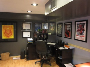 The Man Cave/Office