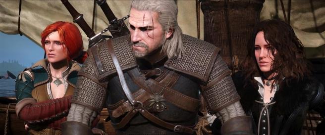 Triss, Geralt of Rivia, Yennefer - The Witcher 3; Wild Hunt