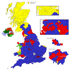 How the UK looks according to the 2015 General Election vote